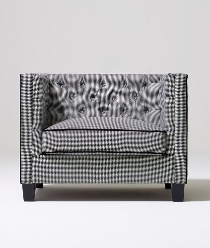 HOUND TOOTH SOFA