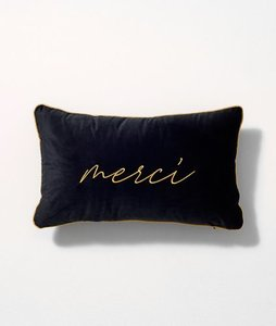 MERCI VELVET CUSHION