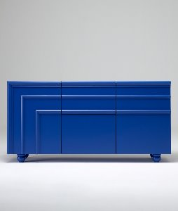 ROYAL BLUE WIDE DRESSER